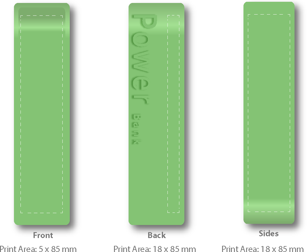 Power Banks Line Drawing