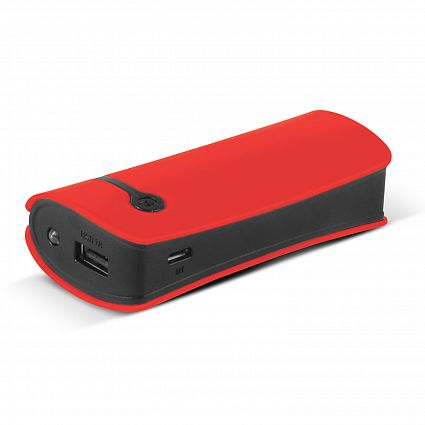 Red Curve Tablet Promotional Power Bank
