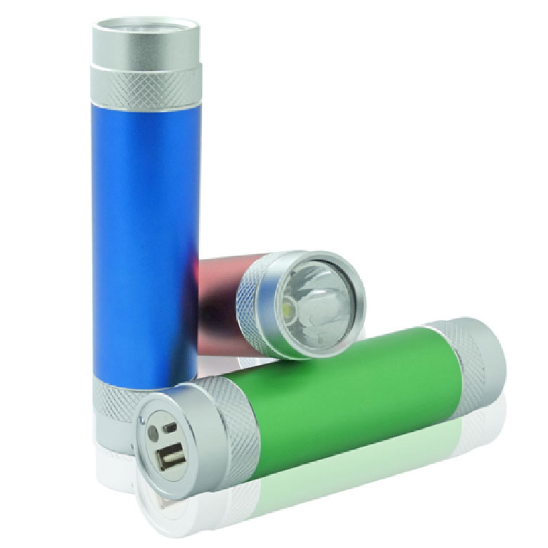 Torch Promotional Power Bank