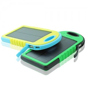 Branded Solar power banks are great for eco marketing campaigns