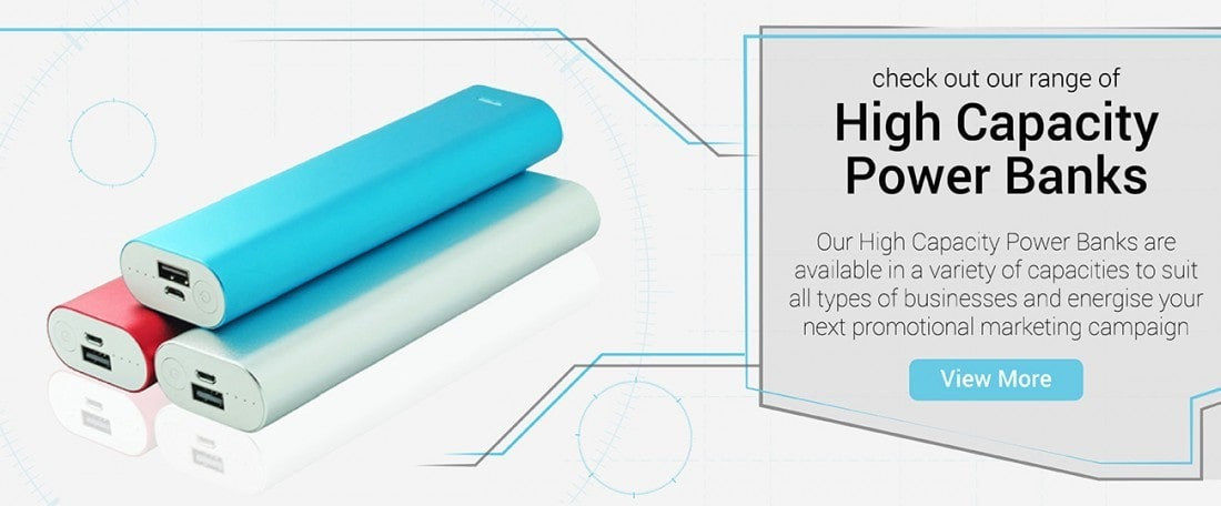 High Capacity Power Banks