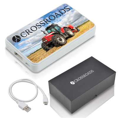 Compact Photo Promotional Power Bank